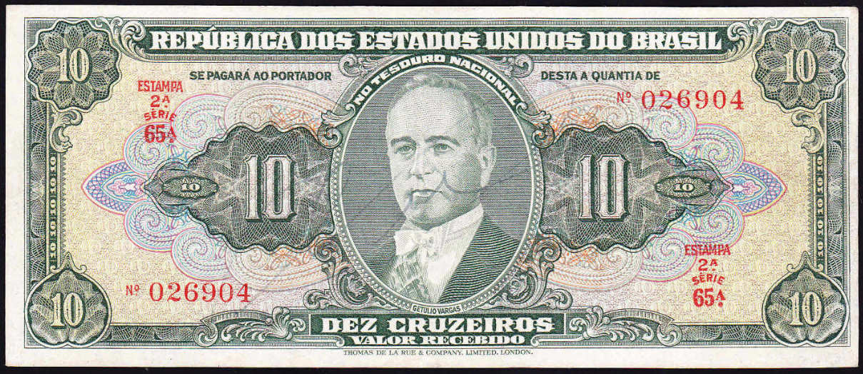 Brazil Paper Money http://www.numismondo.net/pm/bra/index142.htm