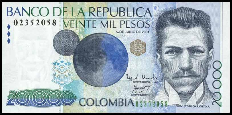 P New 10 000 Pesos 20 7