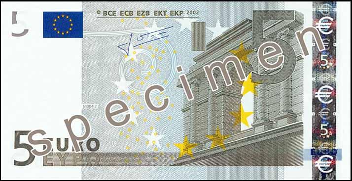 Jean-Claude Trichet printer R 50 euro banknote 2002 UNC Prefix-X Germany sign