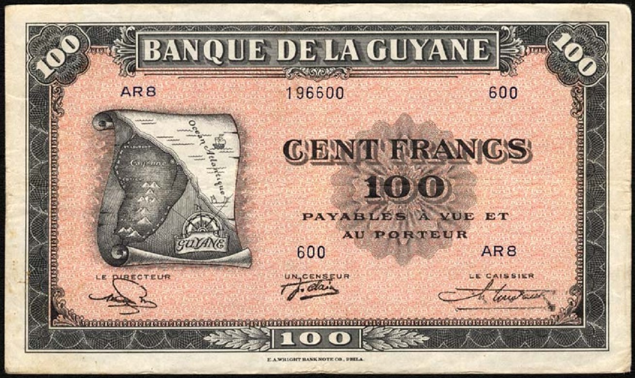 P 13b 100 Francs Nd 1942