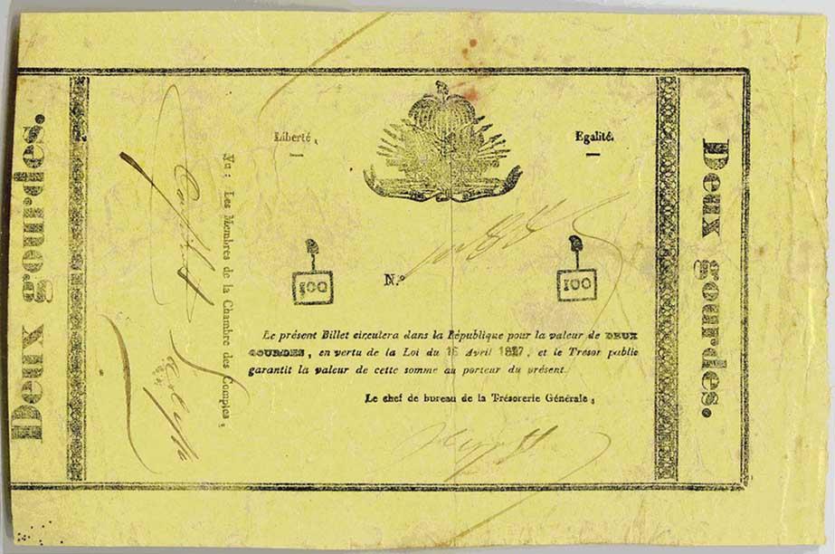 Haiti Paper Money Catalog, Page 1