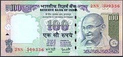 IndP.98c100Rupees2007Rsig.89Y.V.ReddyWK.jpg