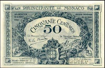 Monaco 50 Francs 2014 Essay - Monégasque Currency & Bank Notes ...