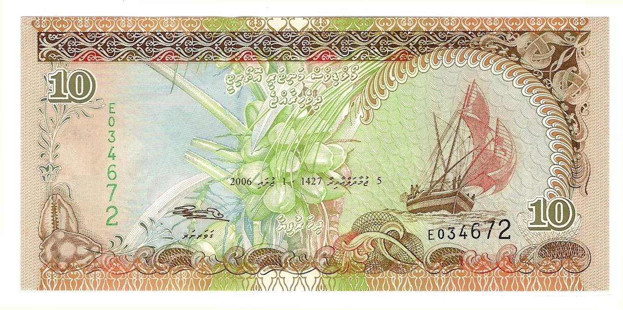 Maldivene Valuta