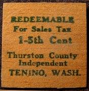 Usa Wooden Bills Tanino Wa 1931 33 Issues